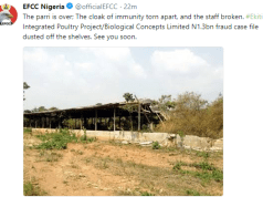EFCC is coming for Fayose...see what they tweeted hours after his party lost the state governorship election