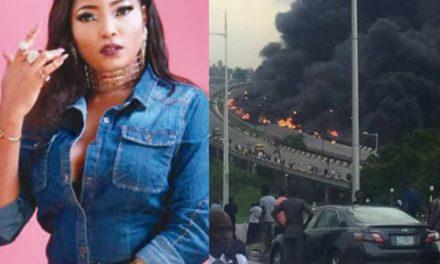 I saw the Otedola bridge fire in my dream – Actress Habibat Jinad