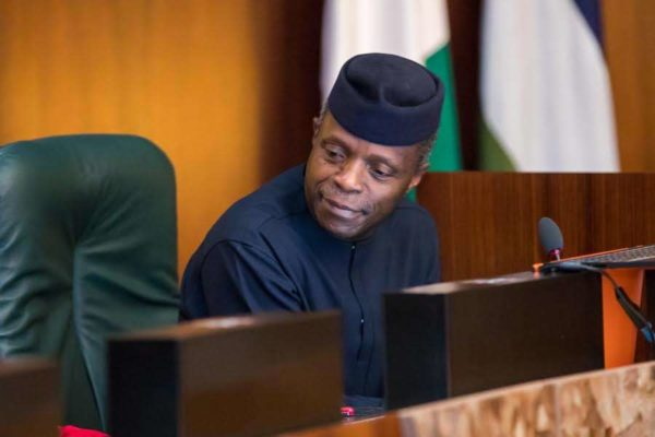 Osinbajo meets founder of LinkedIn