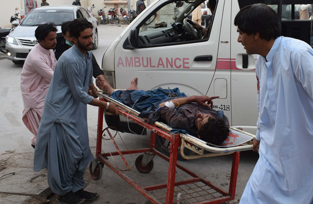 Death toll in Pakistan election rally attack rises to 85 Published July 13, 2018