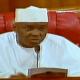 video of Bukola Saraki announcing defection of 15 senators to PDP