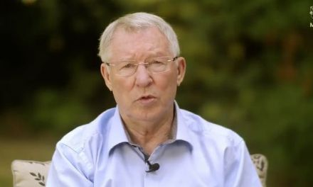 Sir Alex Ferguson seen for first time since emergency brain surgery as Man United legend hails medical staff