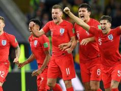 England beats Colombia on penalty shoot out