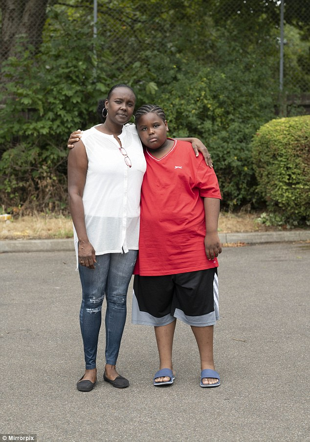 10-year-old schoolboy who weighs 17 stone fears he will die unless he beats his food addiction