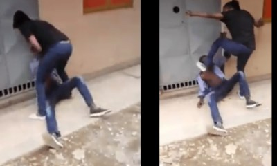 Kenya woman caught on video assaulting man over Ksh.200 on the run