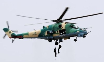 Nigerian Airforce fighter jet destroys Boko Haram hideout in Borno State