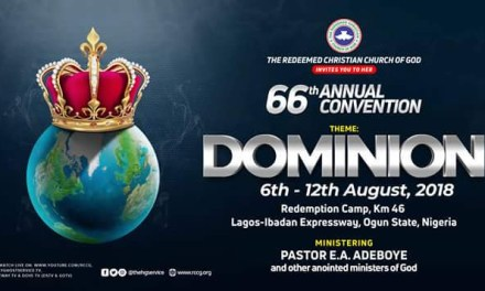 DAY 4 RCCG HOLY GHOST CONVENTION 2018  – LIVE BROADCAST