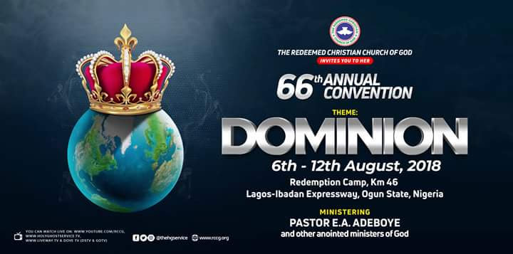 DAY 3 RCCG HOLY GHOST CONVENTION 2018  – LIVE BROADCAST