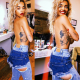 Rita Ora uncovers her body in stunning photos