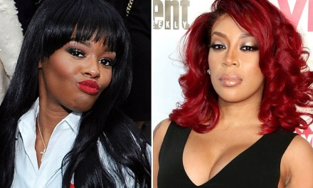 Azealia Banks slams K Michelle again, says she cancelled their joint tour 'because her a** was rotting'