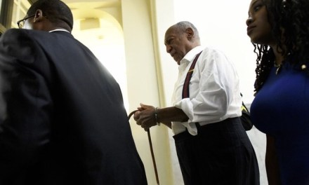 Photo of Bill Cosby In handcuffs after he was sentenced to prison