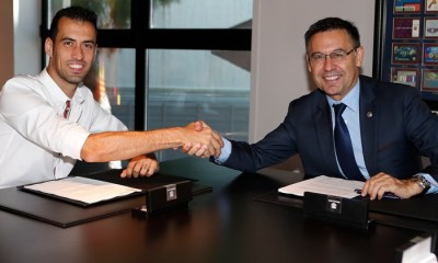 Busquets extends Barcelona contract