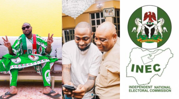 Davido reacts to INEC declaring Osun election inconclusive