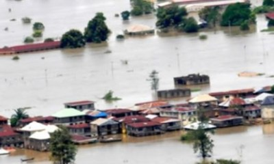Flood submerges five communities, rice mill in Benue State