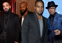 Kanye West calls out Drake, Nick Cannon and Tyson Beckford, warns them to stop saying negative things about his wife Kim Kardashian (Videos)