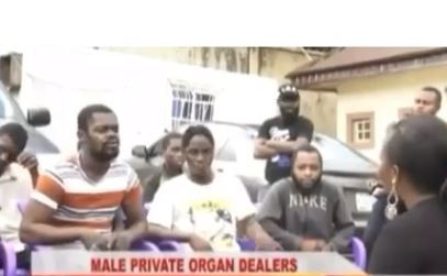 Police arrest 10-man-gang that specializes in selling private male organ