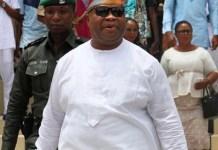 Davido reacts to death rumour of Senator Adeleke