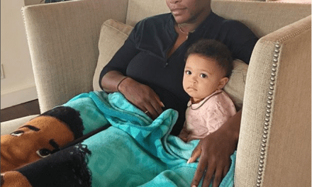 Serena Williams looks unbothered as she shares first photo with her daughter Olympia after U.S. Open loss