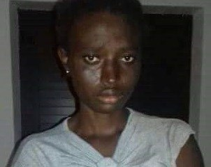 23-year-old African lady runs mad in Italy