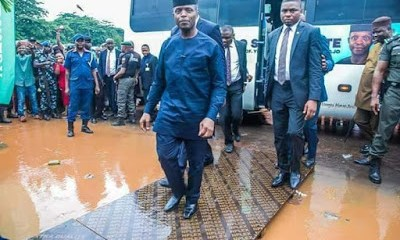 Osinbajo in Kogi as flood kills 108, displaces 141,369