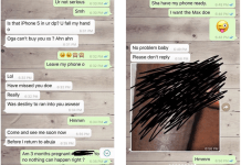 Nigerian man shares shocking chat conversation of his pregnant wife who was planning to go 'sleep' with a man because of iPhone Xs (Screenshots)