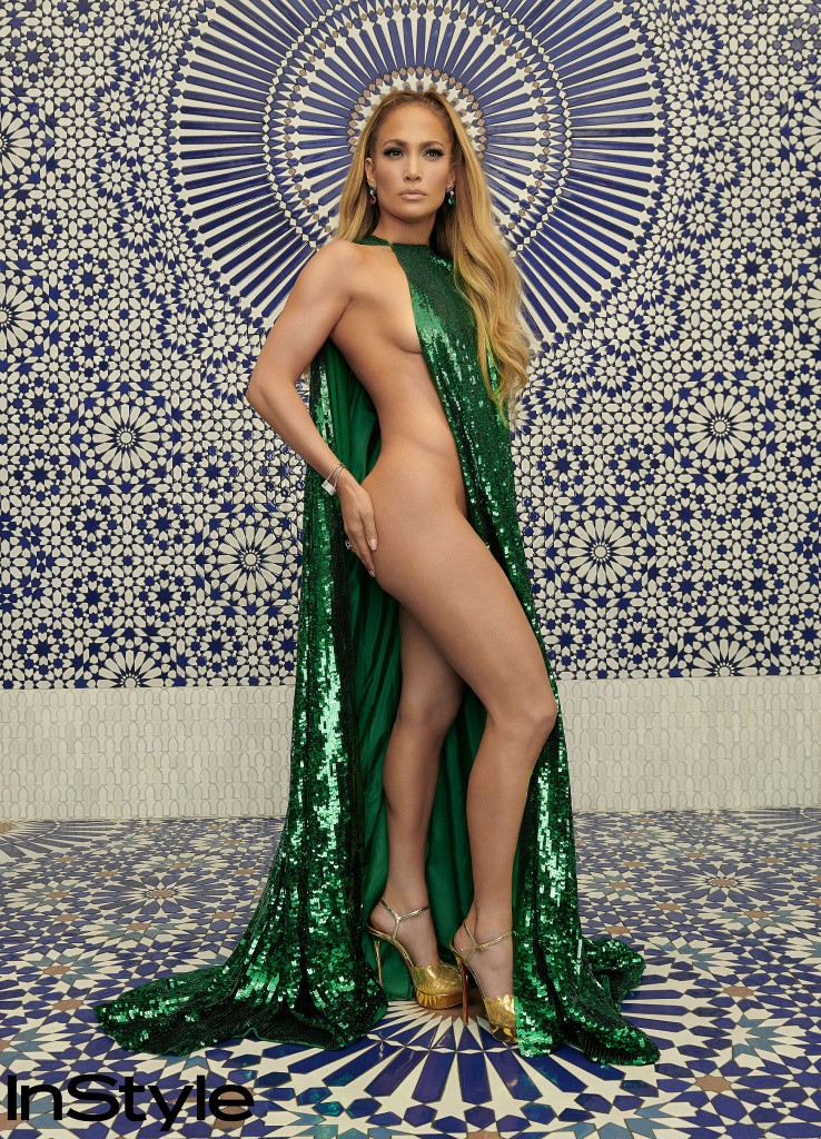 Jennifer Lopez wows in half-nak'd InStyle Photo Shoot