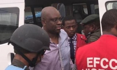 Fayose reacts as EFCC reportedly seal off properties belonging to him