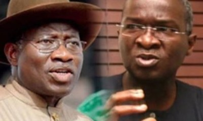 Fashola says, the imminent recession Nigeria was facing made Goodluck Jonathan concede defeat in 2015