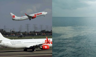 Indonesian plane carrying 188 crashes into ocean
