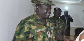Missing General: Army recovers car buried with occupants