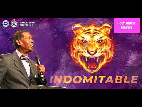 RCCGOctober 2018 Holy Ghost Service – Indomitable – Watch LIVE
