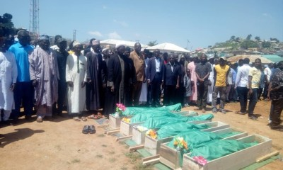 Shiite members bury six of their members killed in faceoff with security agents