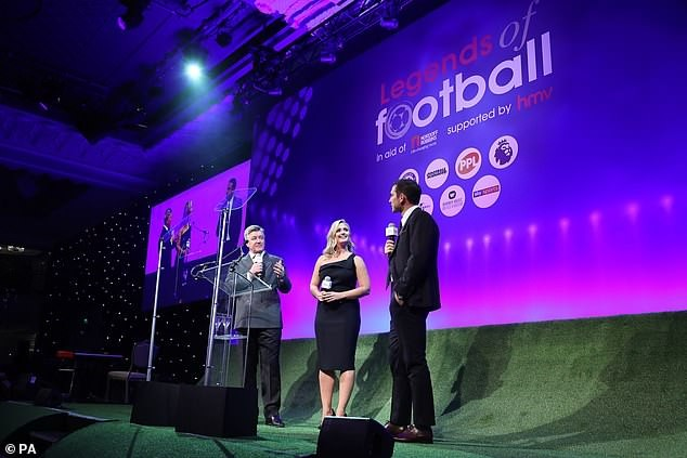 Frank Lampard, Chelsea legend, inducted into Legends of Football Hall of Fame (Photos)