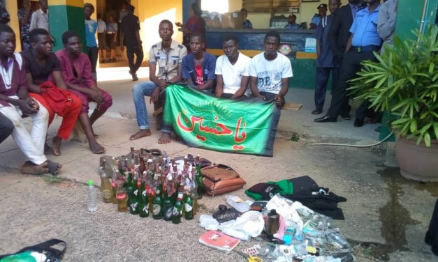 Photos: Weapons found on protesting shiite members in Abuja