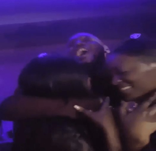 2face Idibia, Annie Idibia and his baby mama, Pero Adeniyi reconcile in emotional video
