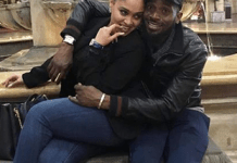 D'banj and his wife Lineo loved up in new photos