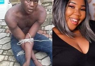 Vigilante group apprehend man who killed Seiyefa Fred over iphone (photos)
