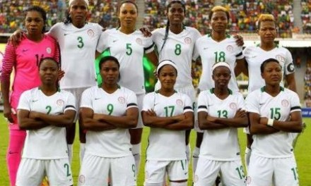Nigeria's Super Falcons lose their opening match to South Africa at the 2018 AWCON