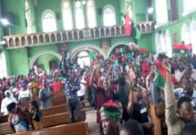 Biafra News: MASSOB supports IPOB, attacks police over arrest of Jewish protesters