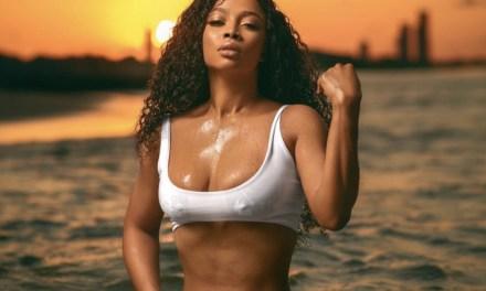 Toke Makinwa flaunts her sexy curves in hot new bikini photos