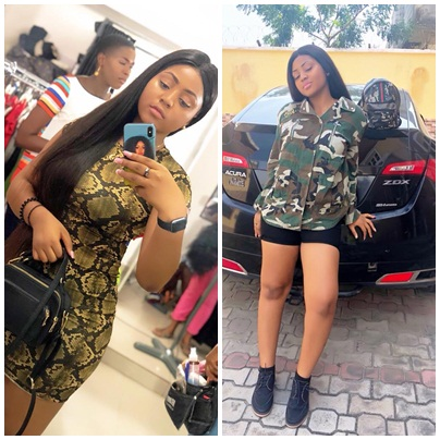 Regina Daniels flaunt curves in new photos