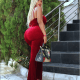Actress Daniella Okeke flaunts her curvy backside