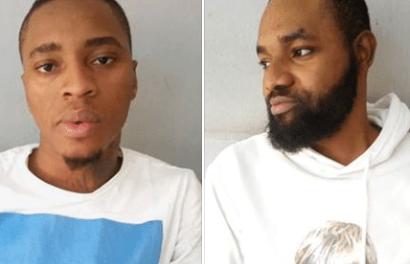 Two Yahoo Yahoo boys bag one year imprisonment
