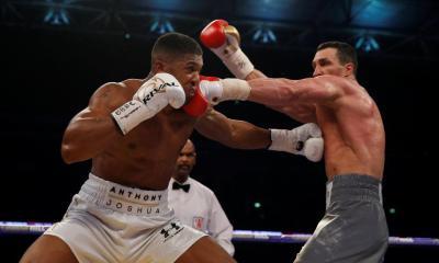 Klitschko targets comeback fight against Anthony Joshua
