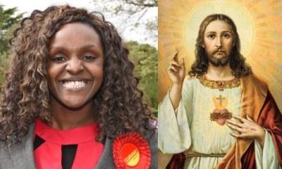 Lawmaker compares herself to Jesus