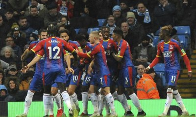 Crystal Palace shocks Manchester City 3-2