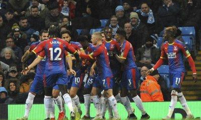 Crystal Palace shocks Manchester City 3-2
