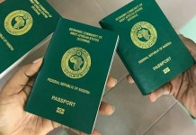 Nigerian passport validity