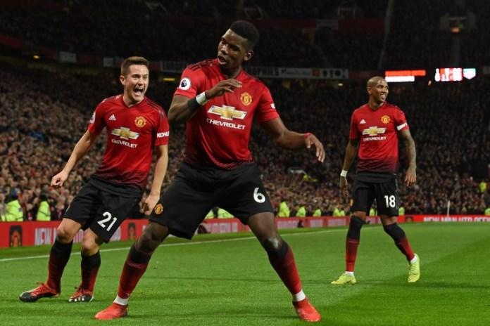 Pogba scores in Manchester United vs Bournemouth