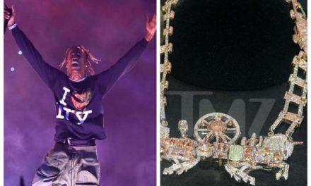 Travis Scott spends $450k on diamond chain